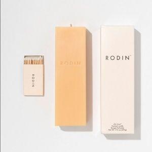 Rodin Olio Lusso Scented Pillar Candle, 17.5 oz